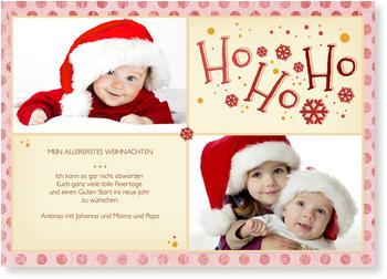 weihnachtskarten baby nur jetzt mit 20 rabatt. Black Bedroom Furniture Sets. Home Design Ideas