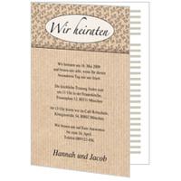Hochzeitseinladung: Ornamente