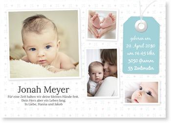 Geburtskarten, Das bin ich!