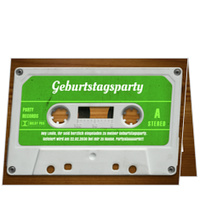 Mixtape in Grün