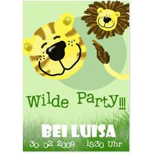 Wilde Party für Mädchen