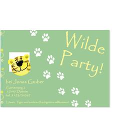 Wilde Party für Jungen
