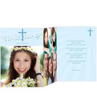 Heiliges Kreuz in Blau
