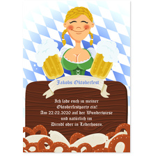 Oktoberfest - Dirndl - Maid