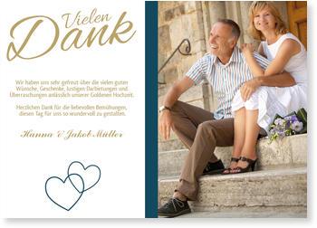 Danksagungskarten Goldene Hochzeit Lieferzeit 1 2 Werktage