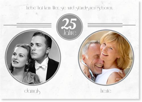 Einladungskarten Silberhochzeit / Einladungskarten Silberhochzeit   Lieferzeit 1-2 Werktage