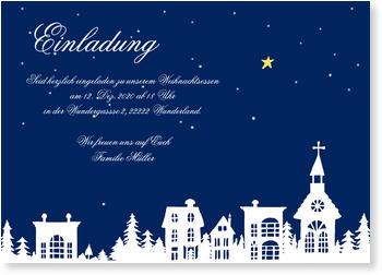 einladung zum weihnachtsessen | nur jetzt mit 20% rabatt, Einladung