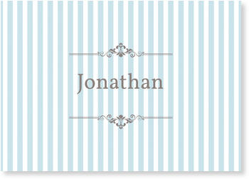 Photo Birth Announcements for Boys – share the news, Stripes