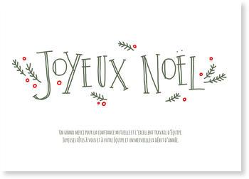 Carte Noël Entreprise Bonnyprints Fr