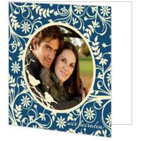 Hochzeitsgezwitscher in Blau