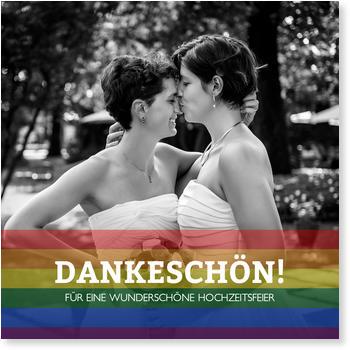 Dankeskarten Zur Gleichgeschlechtlichen Ehe Wunderkarten