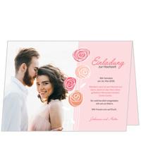Hochzeitsröschen in Rosa