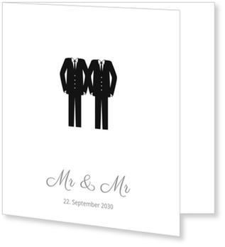 einladungskarten gleichgeschlechtliche ehe wunderkarten. Black Bedroom Furniture Sets. Home Design Ideas