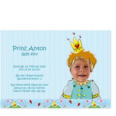 Kleiner Prinz feiert!