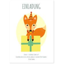 Kleiner Fuchs in Rot