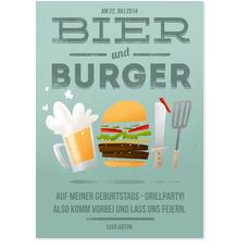 Bier und Burger