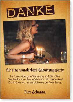 Dankeskarten Geburtstag Gratis Musterkarten Und Versand