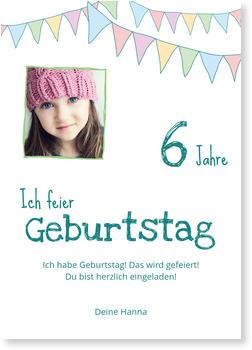 Einladungskarten Kindergeburtstag | Lieferzeit 1-2 Werktage