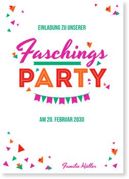 Einladung Drucken Digitaldrucke De 24 Einladungskarten Karneval