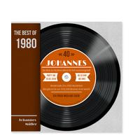 Schallplatte in Orange