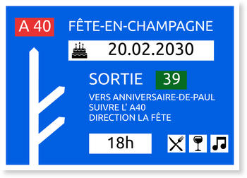 Carte Invitation Anniversaire 40 Ans Bonnyprints Fr