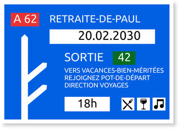 Carte Depart En Retraite Bonnyprints Fr