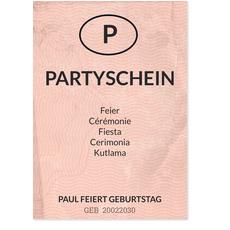 Partyschein