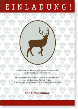 einladung gesch ftliche weihnachtsfeier nur jetzt mit 20. Black Bedroom Furniture Sets. Home Design Ideas