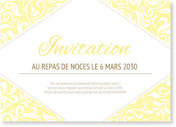 Invitations Mariage Personnalisées, Courbes tendres