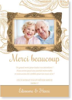 Texte remerciement 60 ans mariage