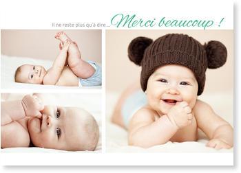 Image pour remerciement naissance