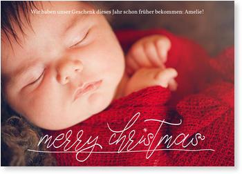 Weihnachtskarten Babyfoto.Weihnachtskarten Baby Nur Jetzt Mit 20 Rabatt