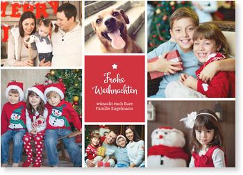 Weihnachtskarten Mit Eigenem Bild.Aktuelle Weihnachtskarten Gratis Musterkarten Und Versand