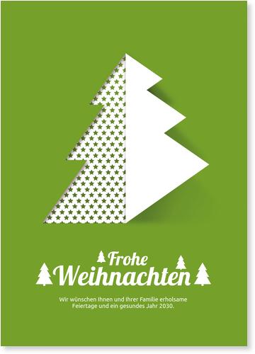 Geschäftliche Weihnachtskarten mit gutem Zweck