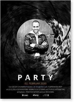 Einladungskarten 30. Geburtstag, Partyagent