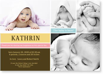 Baby Photo Cards – a fab presentation of your little one, Little Casket