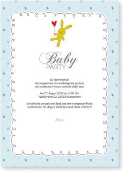 Einladungskarten Babyparty Jetzt Gratis Muster Bestellen