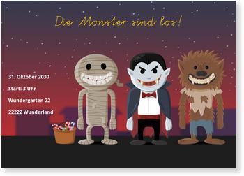 halloween einladung | schneller & kostenloser versand, Einladung