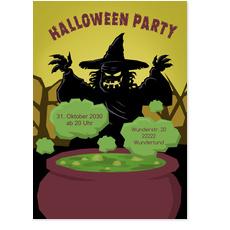 Halloween - Gruselige Hexe