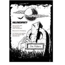Halloween Grabstein